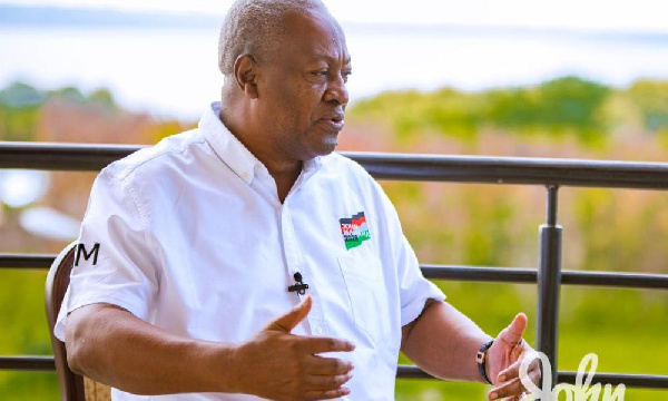 John Mahama promises to fund Africa participation by clubs when elected into power