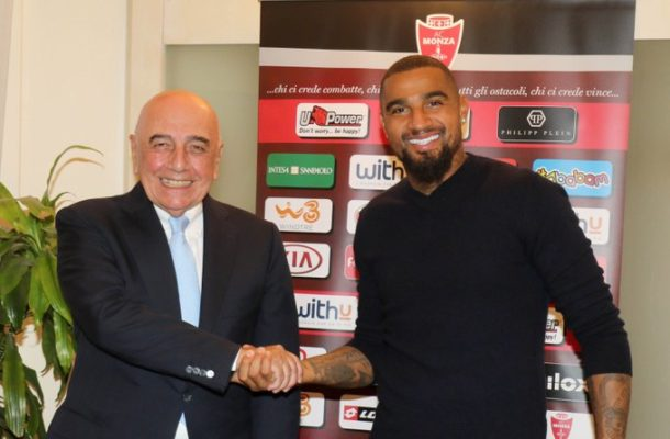OFFICIAL: Journeyman K.P Boateng joins AC Monza