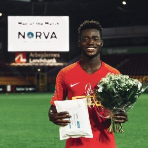 I'm ready to leave Nordsjaelland if the deal is right - Kamaldeen Sulemana