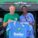 Kelvin Yeboah extends contract with WSG Swarovski Tirol