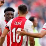 Kudus Mohammed provides assists as 10 man Ajax beat Vitesse Arnheim