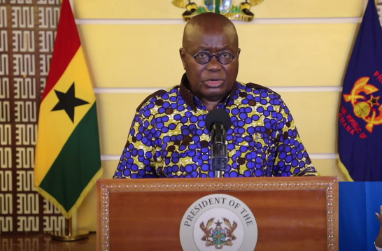 Full Speech: Prez Akufo-Addo's 17th address to the nation on coronavirus fight