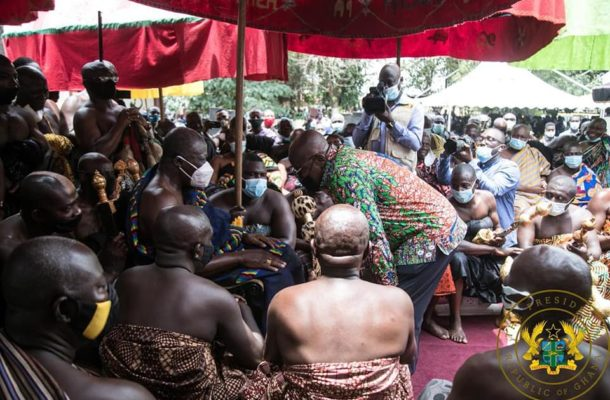Asanteman will remember your good works on December 7 – Otumfuo to Akufo-Addo