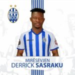 Derrick Sasraku joins Albanian champions KF Tirana