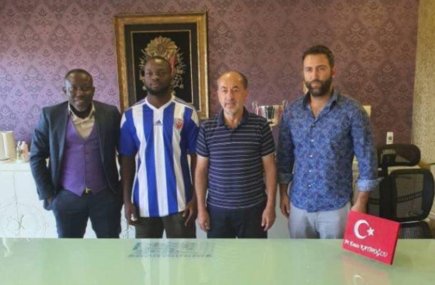 Umar Basit joins Turkish side Ankaraspor Kubulu on loan