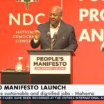 When the Manifesto launch gets interesting, the light mysteriously goes off