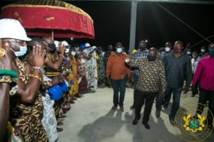 PHOTOS: Akufo-Addo inspects 1D1F starch processing factory at Amantin