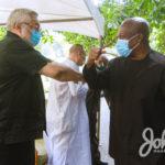 John Mahama, NDC console President Rawlings