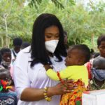 NPP's Afia Akoto donates to Royal Seed Orphanage At Awutu Senya