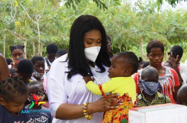 NPP's Afia Akoto donates to Royal Seed Orphanage At Awutu Senya