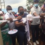 Akuapem North MP Ama Dokua commissions water projects for 3 communities
