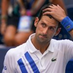 US Open: Djokovic disqualified after hitting line judge with ball