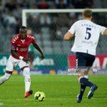 Raphael Dwamena's late strike snatches vital point for Vejle Boldklub