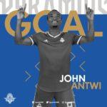 Black Stars returnee John Antwi scores winner for FC Pyramids
