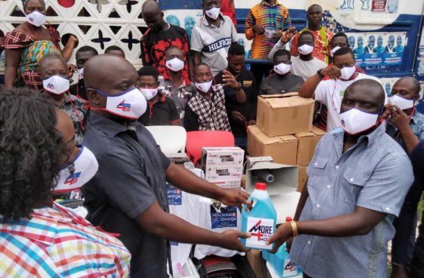 NPP patron, Kojo Adarkwa supports Asene Akroso-Manso constituency