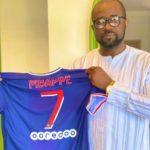 PSG star Kylian Mbappe gifts GFA Prez signed PSG jerseys
