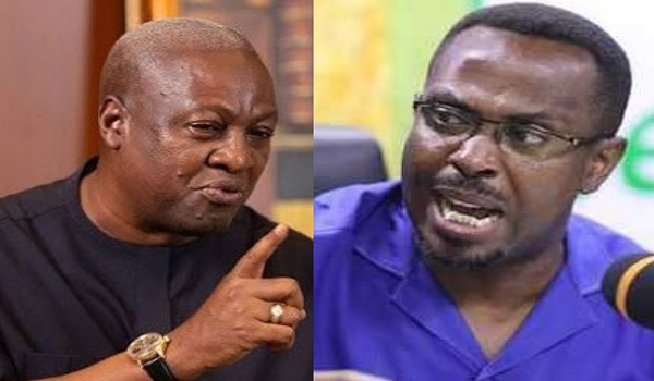 It's a shame you can't launch simple manifesto - Kwamena Duncan fires Mahama