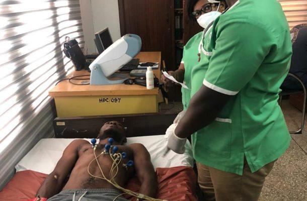 PHOTOS: Medeama players and technical team undergo medical screening ahead of new season