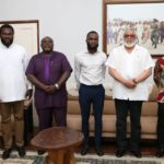 Rawlings grants audience to Atta-Mills Institute