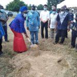 Gov't cuts sod for construction of new TVET Workshop Centre at Kukurantumi