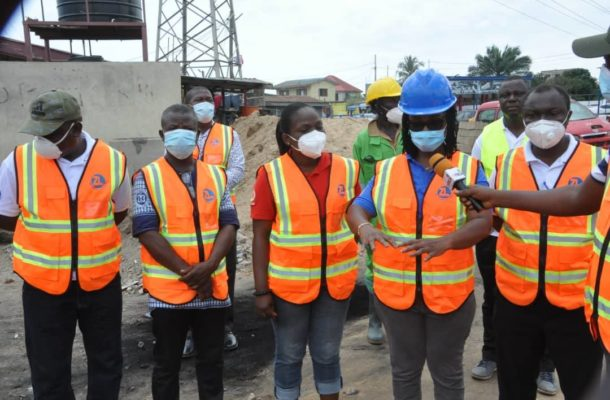 National Malaria Control Program (NMCP) undertakes inspection of Zoomlion's mosquito control exercise in Accra and Kumasi