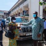 Regional Directors of Education receive Land Cruiser Prados