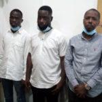 National Security grabs smugglers at Kotoka Airport with US$1 million gold
