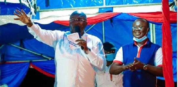 Bawumia runs to Bekwai as falling Joe Wise deepens cracks in NPP