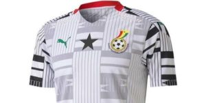 PHOTOS: Check out 'newly' designed Black Stars jersey