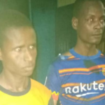 PHOTO: Police arrest 2 armed robbers at Sefwi Boinzan