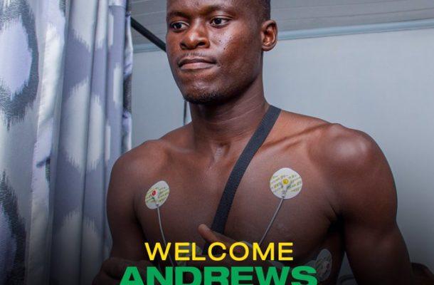 OFFICIAL: Kotoko signs Bofoakwa defender Andrews Kwadwo Appau