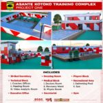 First phase of Adako Jachie training complex to be ready in 2 weeks - Kotoko CEO