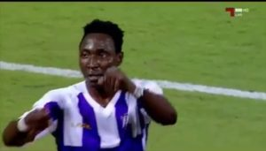 VIDEO: Watch Kofi Kordzi's debut goal for new club Muaither SC