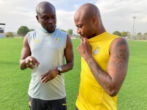 PHOTOS: Black Stars continue with training in Turkey ahead of Mali, Qatar friendlies