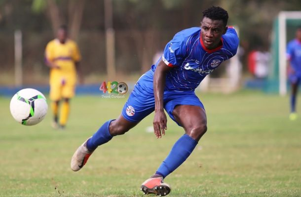 Official: Liberty Professionals poster-boy Elvis Kyei-Baffour joins Tunisian club AS Soliman