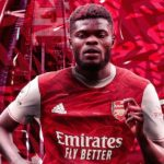 Partey to wear the number 18 shirt at Arsenal