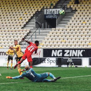 VIDEO: Watch Francis Abu score equalizer for FC Nordsjaelland
