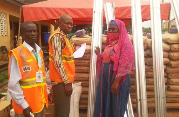 A/R: NADMO supports Kwabere fire victims