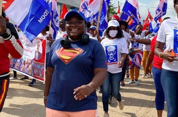 NPP Loyal Ladies embarks on 'solidarity walk' for brutalized Suhum members