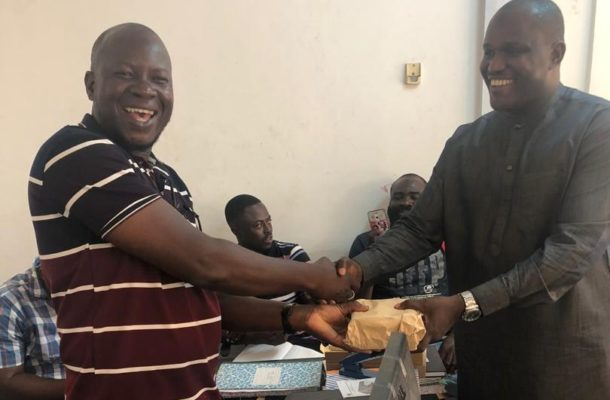 NDC Youth Activist donates to Ayawaso North Constituency