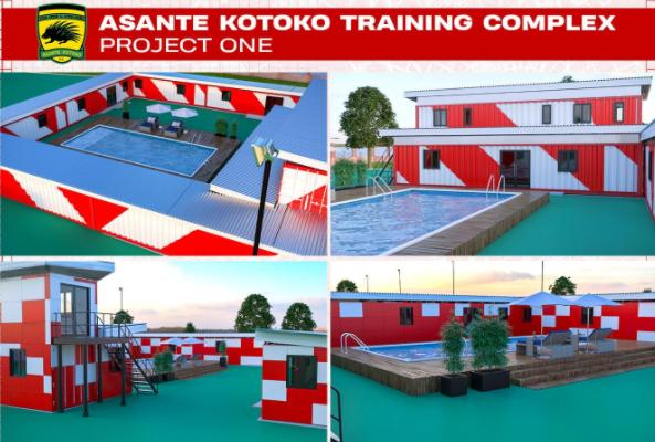 PHOTOS: Kotoko begins first phase of Adako Jachie Training Complex