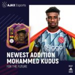 Ajax's Kudus Mohammed's ratings rise in FIFA 21