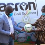 GFA takes delivery of Macron footballs and bibs for the season