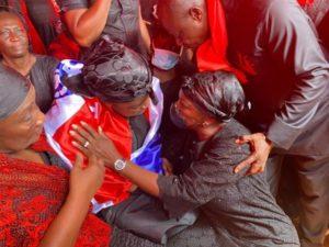 PHOTOS: Lydia Alhassan visits murdered Mfantseman MP's wife
