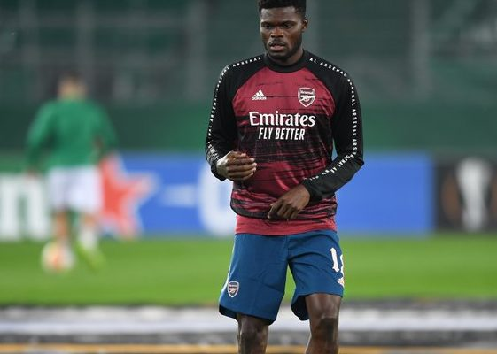 Thomas Partey ruled out of Arsenal's game against Leeds United