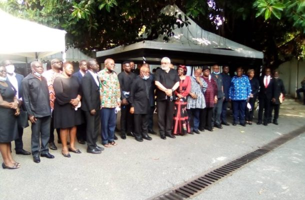 PHOTOS: Parliament mourns with Ex-President Rawlings