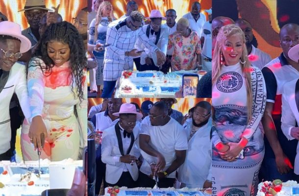Photos and videos from Shatta Wale's birthday party