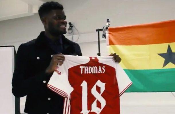 PHOTOS & VIDEOS: Arsenal outdoors new signing Thomas Partey