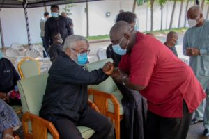 PHOTOS: Koku Anyidoho visits Rawlings