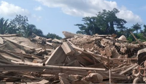 Pastor of collapsed church building arrested
